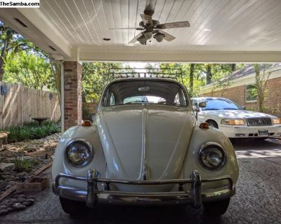 FOR SALE L282 Lotus White 67 Beetle