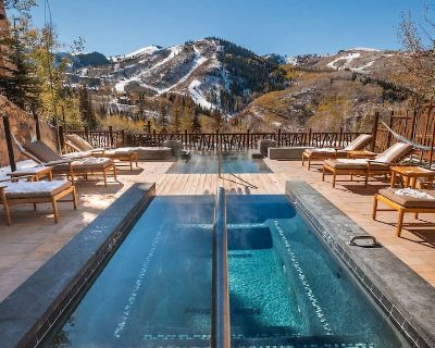 *NEW* Gorgeous Luxury Ski-in/Out Deer Valley. Pool, Gym, Ski Valet. - Empire Pass