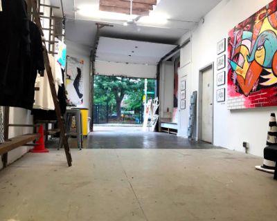 Raw Industrial Art Gallery & Studio in Hip Urban Neighborhood, Allston, MA