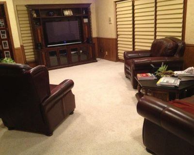 """MUST SELL Beautiful  High Quality 2 pc Entertainment Center for 55""""+TV"""