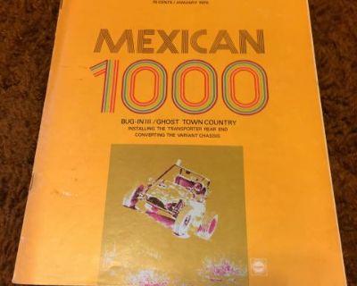 Dune Buggies The Fun Car Journal January 1970