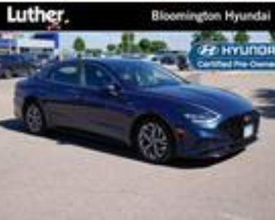 2020 Hyundai Sonata Blue, 19K miles
