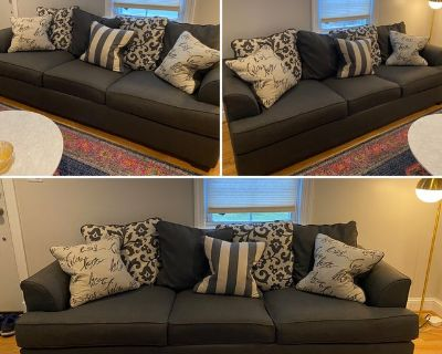 Grey couch looking for a new home