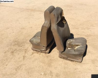 Type 3 front seats, pair