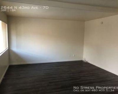 2644 N 43rd Ave #7D, Phoenix, AZ 85009 3 Bedroom Condo