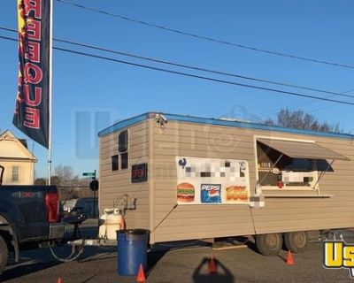Kitchen Food Concession Trailer with Current Health Department Inspection