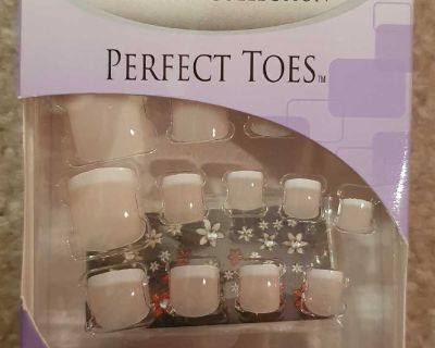 Nailene Designer Collection Nails for Toes - Pink French
