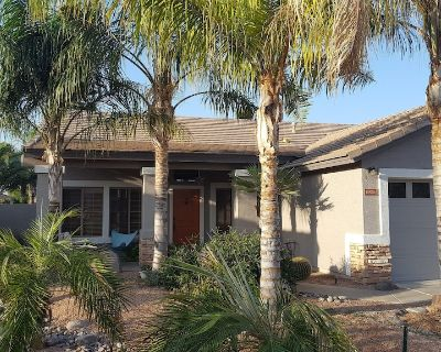 Beautiful, one level home with pool and nice patio - Finley Farms South