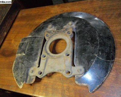 SWB front dust shield & bracket