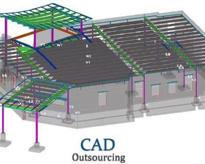 Pre Cast panel detailing Services USA - CAD Outsourcing
