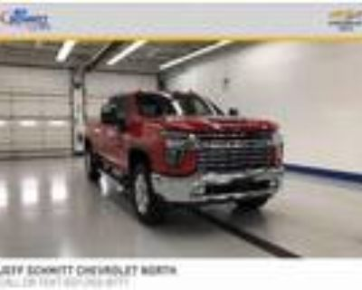 2020 Chevrolet 2500 Red, 1282 miles