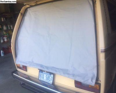 80-91 Vanagon Rear Hatch Thermal insulation