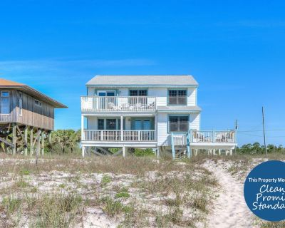 East of Eden Beach House- Beach Front,private Home With Luxurious Interior! - Perdido Key