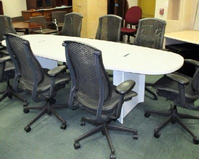 20 Herman Miller Celle conference chairs