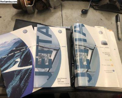 2003 JETTA Owners Manual