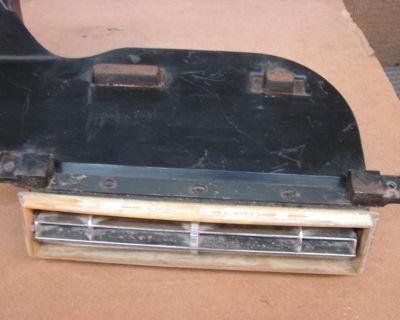 1966 1967 Chevy El Camino Ss 396 Ac Control Plastic Face Malibu 283 327