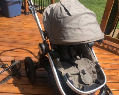 City Select Stroller with baby car seat adaptor.