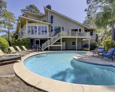 70 S. Sea Pines-beautiful Views of Braddock Cove & a Quick Walk to the Beach - Bald Eagle West