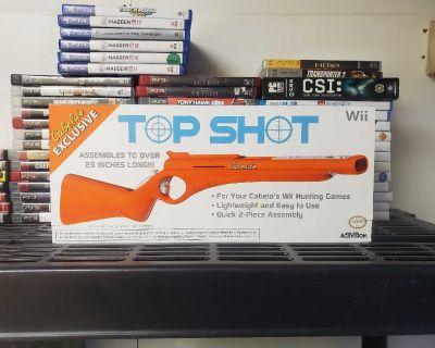 Nintendo Wii top shot gun