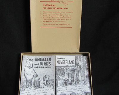 1950s Continental Press Education Miniature Booklets Vintage Collectibles Lot Grade 2 EUC