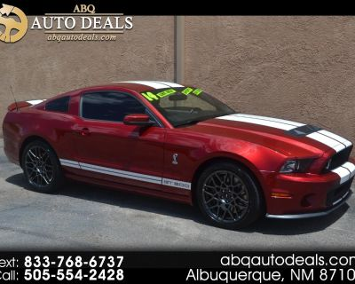 Used 2014 Ford Mustang 2dr Cpe Shelby GT500