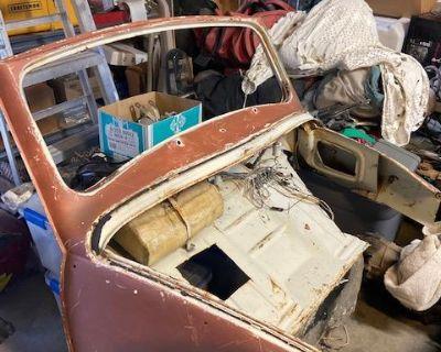 1964 & earlier Bug Vert partial front end