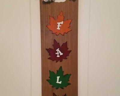 Handmade Fall Door Hanger