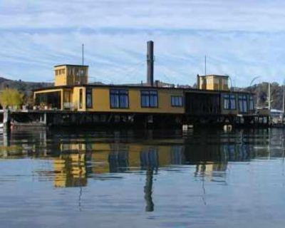 Fabulous Ferryboat on San Francisco Bay - Marin County