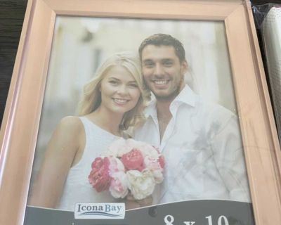 (5) 8x10 Rose Gold Picture Frames