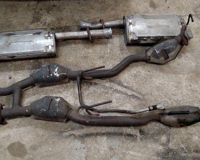 1993 Mustang Cobra, H-Pipe Mufflers