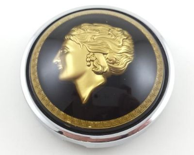 Flat-4 Golden Lady Horn Button for Banjo Wheel
