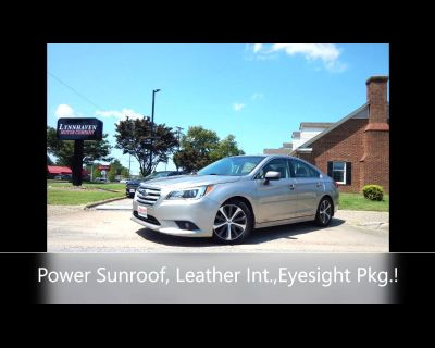Used 2016 Subaru Legacy 2.5i Limited