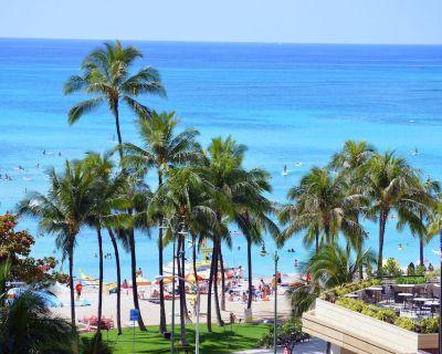 New Rental Across From Center Of Waikiki Beach!!! Free WIFI/Phone. Full Kitchen. - Waikiki