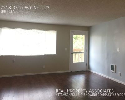 Large Balcony, Newly Remodeled, Full Size W/D, with Urban View!