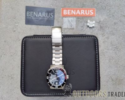 FS Benarus Moray 42mm dive watch