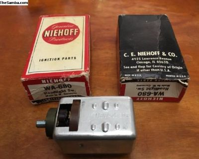 NOS Headlight Switch Niehoff (113 941 531 E)