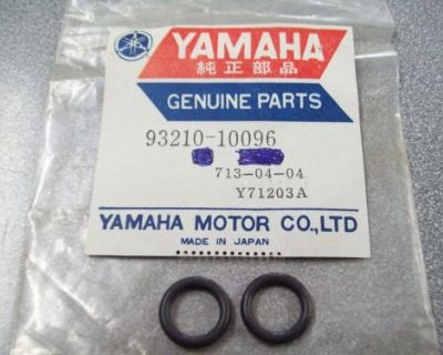 Genuine Yamaha O-ring (2) Et410 Vk540 Vt480 Xp500 & More 93210-10096 New Nos