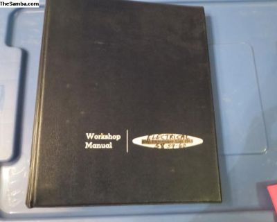 Workshop Manual Of Electrical Systems Only 1958-60