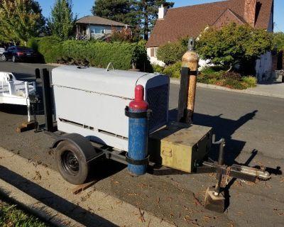 Lincoln Sa250 diesel welder