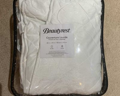 Weighted blanket 18 lb