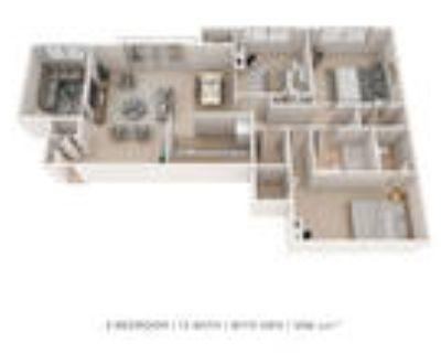 Henson Creek Apartment Homes - Three Bedroom 1.5 Bath Den