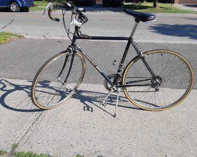 Mens 26 inch italian bike with odometer.