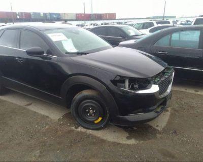 Salvage Black 2020 Mazda Cx-30