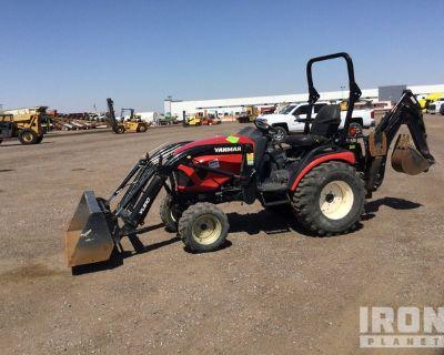 2017 Yanmar SA424 4WD Utility Tractor