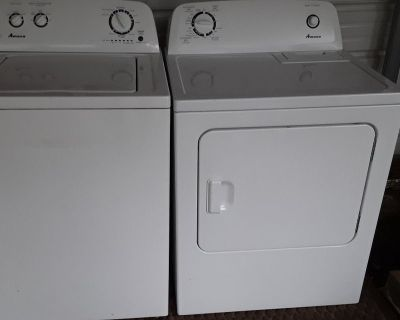 Amana He by Whirlpool washer and dryer set for sale