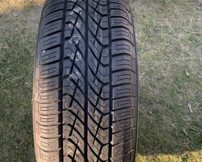 One Brand new Yokohama tire with rim haven t been used
