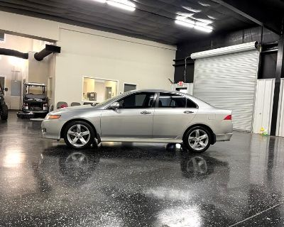 2006 Acura TSX 5-speed AT