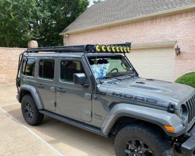 """Texas - GOBI Stealth Rack - 50"""" LED Setup - Ladders (Driver + Passenger)"""