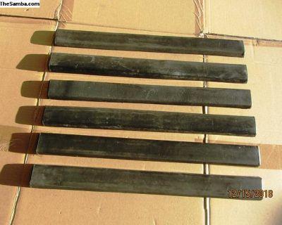 vanagon front bumper molding I 38-43