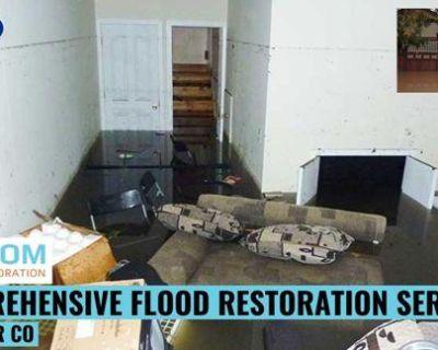 Comprehensive Flood Restoration Services in Denver CO
